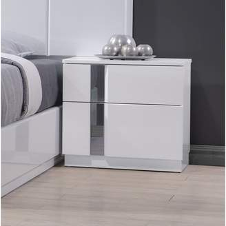 Wade Logan Adelaide 2 Drawer Nightstand