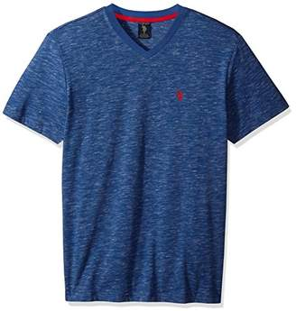 U.S. Polo Assn. Men's Space Dyed V-Neck T-Shirt