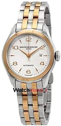 Baume & Mercier Women's Clifton 30mm Steel Bracelet Automatic Watch 10152