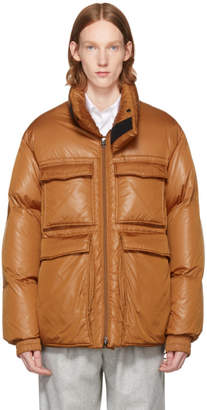 Acne Studios Orange Down Minus Gloss Jacket