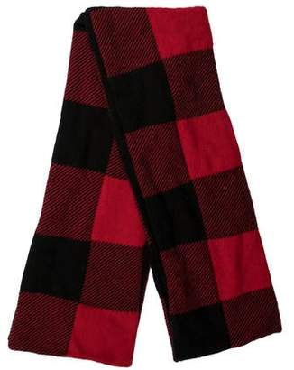 Alexander Wang Plaid Wool Scarf