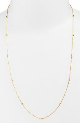 Women's Argento Vivo Long Station Necklace $88 thestylecure.com