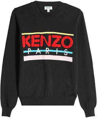 Kenzo Sweatshirt with Applique Logo