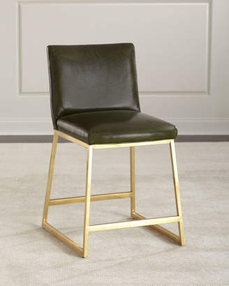Massoud Reza Brass Counter Stool