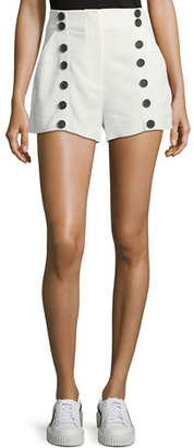 A.L.C. Issac High-Waist Sailor Shorts