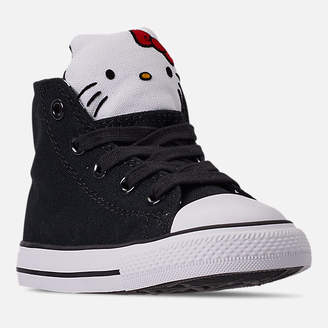 Converse Girls' Toddler x Hello Kitty Chuck Taylor All Star High Top Casual Shoes