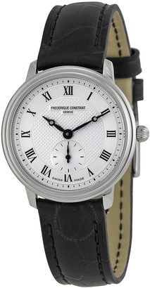 Frederique Constant Slim Line Silver Dial Ladies Watch