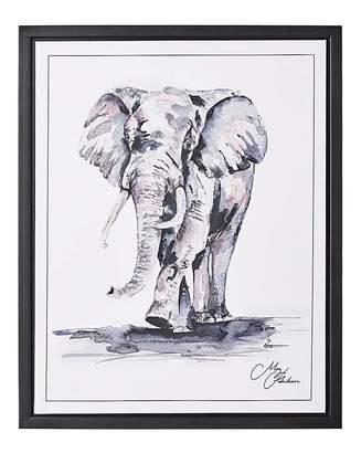 Hawkins Marisota Meg Framed Wall Art - Elephant