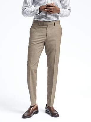 Banana Republic Slim Solid Performance Wool Dress Pant