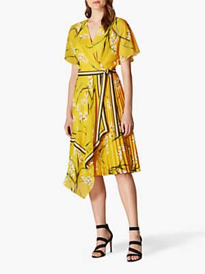 8ddf9aa3fd Karen Millen Pleat Dress - ShopStyle UK