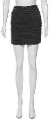 Torn By Ronny Kobo Bodycon Mini Skirt
