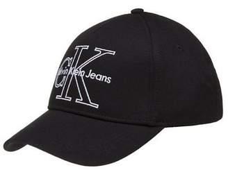 Calvin Klein New Womens Black Re-Issue Cotton Cap Baseball Caps