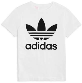 adidas Unisex Logo Graphic Tee - Big Kid