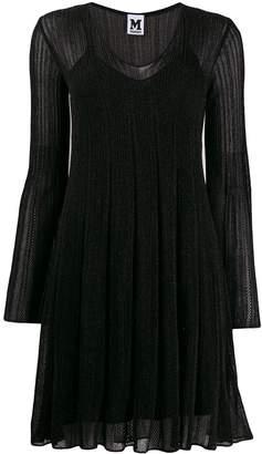 M Missoni long sleeve ribbed dress
