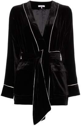 ... Ganni rodier velvet jacket
