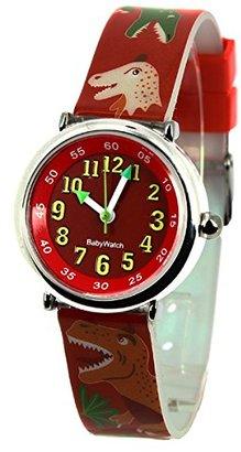 Baby Watch (ベビー ウォッチ) - ベビーウォッチ babywatch コフレボヌール 恐竜 クオーツ 腕時計 CB012 レッド