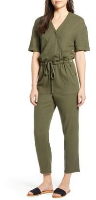 7b5dfc37f6c Faux Wrap Jumpsuit - ShopStyle
