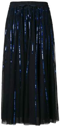 P.A.R.O.S.H. sequinned tulle skirt