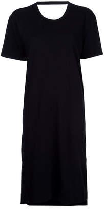 Bassike open back T-shirt dress