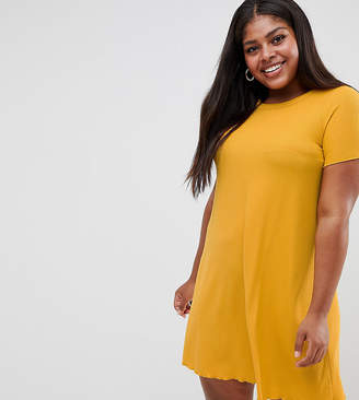 New Look Plus Curve Jersey Tee Dress