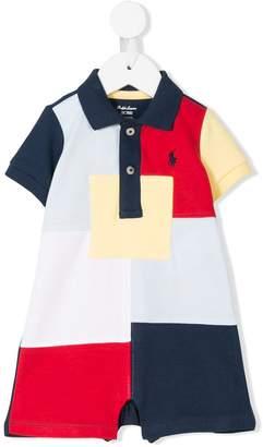 Ralph Lauren color block polo shortie