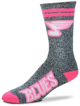 For Bare Feet Adult For Bare Feet St. Louis Blues Crew Socks