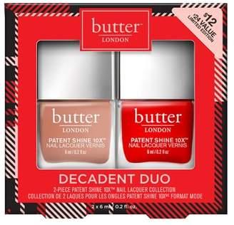 Butter London Decadent Duo