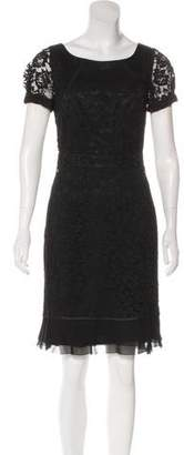 Tory Burch Guipure Lace Sheath Dress