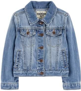 Osh Kosh Oshkosh Bgosh Toddler Girl Classic Denim Jean Jacket