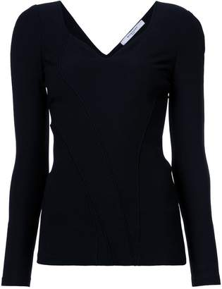 Givenchy sweetheart neck top