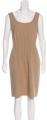 Magaschoni Sleeveless Knee-Length Dress