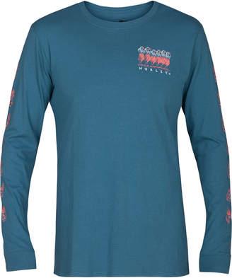 Hurley Men's Hula Destroy Long-Sleeve T-Shirt