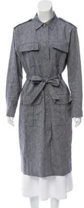 Barneys New York Barney's New York Belted Trench Coat