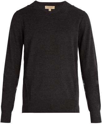 Burberry Checked merino wool sweater