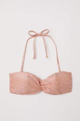 H&M Bandeau Bikini Top - Orange