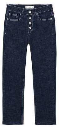 MANGO Straight Lis jeans