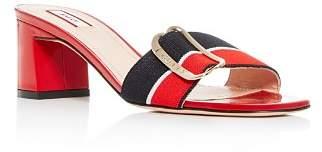 Bally Women's Jordy Block-Heel Slide Sandals