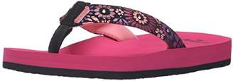 Reef Girls' Little Ahi Lights Sandals