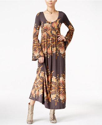 Free People Midnight Garden Maxi Dress $148 thestylecure.com