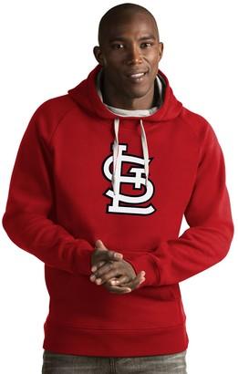 Antigua Men's St. Louis Cardinals Victory Logo Hoodie