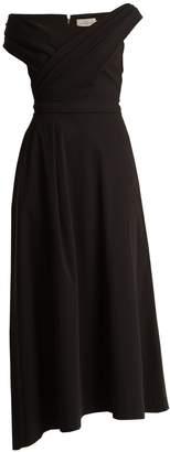 Preen by Thornton Bregazzi Eva stretch-cady midi dress
