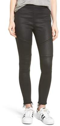DL1961 Haven Coated Denim Leggings