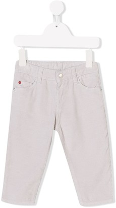 Knot five pocket corduroy trousers