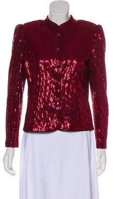 St. John Lightweight Embellished Jacket