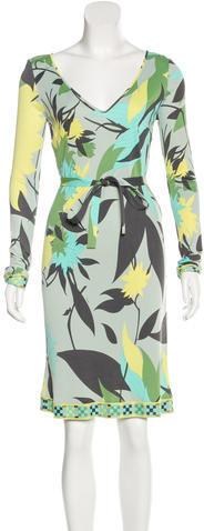Emilio PucciEmilio Pucci Printed Knee-Length Dress