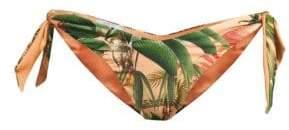 PatBO Paradise Side-Tie Bikini Bottoms