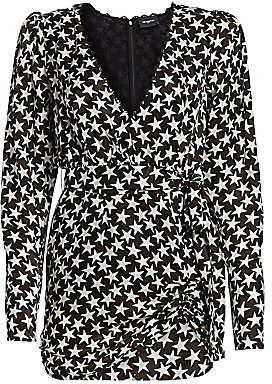 The Kooples Women's Star Print Mini Dress