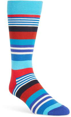Happy Socks Multi Stripe Socks
