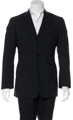 Dolce & Gabbana Woven Striped Sport Coat