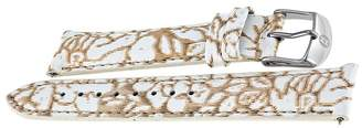 Michele Floral Fashion Patent 18 mm Watch Band Strap